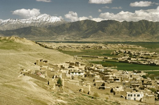 Stock Photo: 3803-460948 Kabul Valley