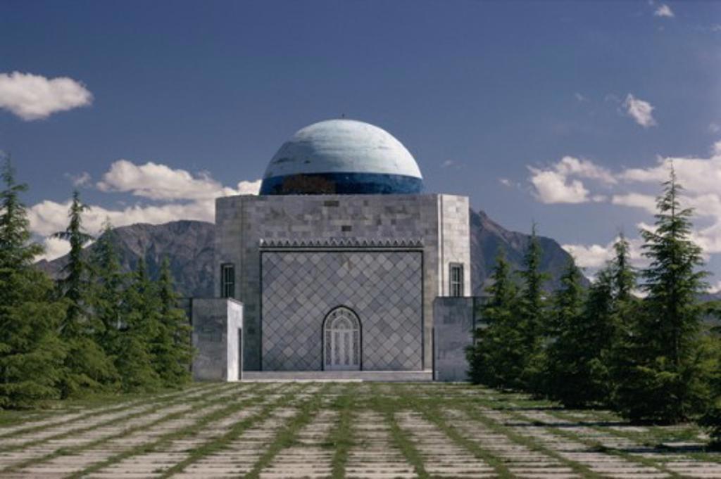 Stock Photo: 3803-517298 Tomb of King Nadir Shah Kabul Afghanistan
