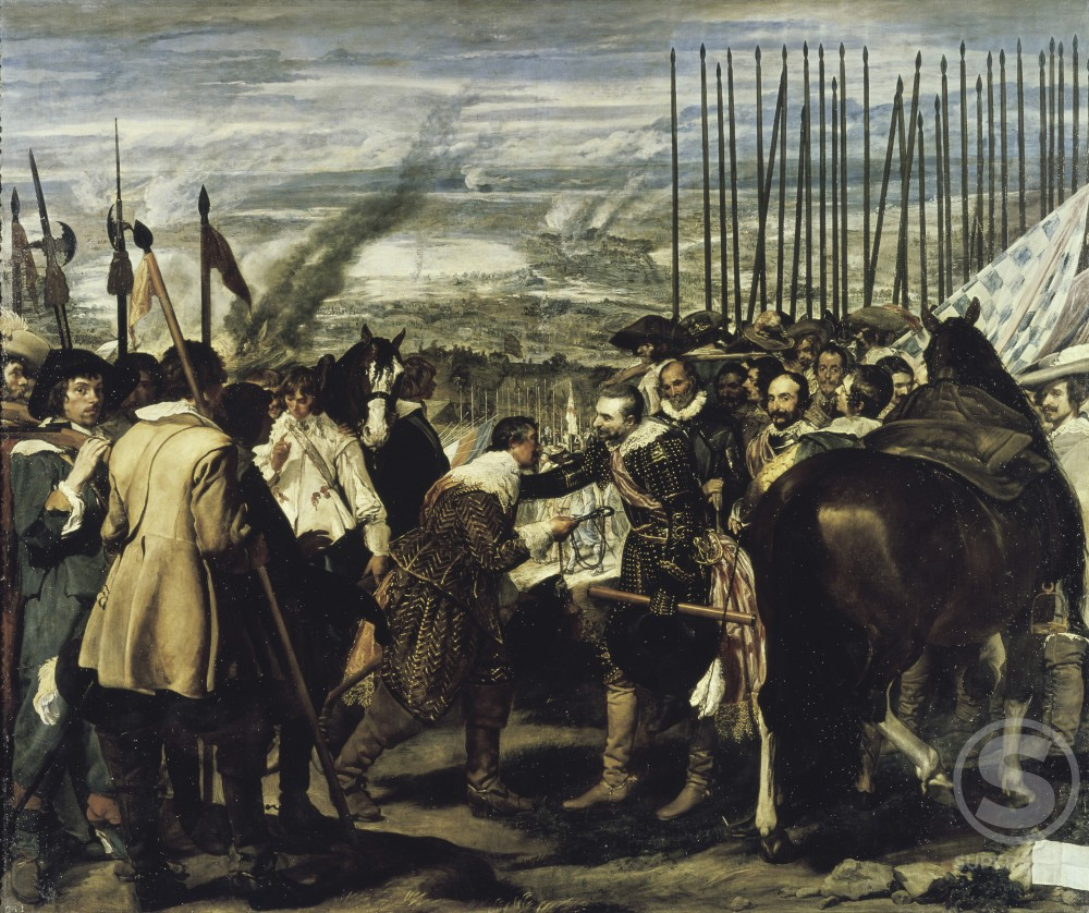 Stock Photo: 3804-342514 Surrender of Breda (The Spears)