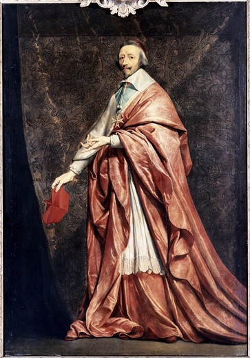 Stock Photo: 3804-391316 Cardinal Richelieu