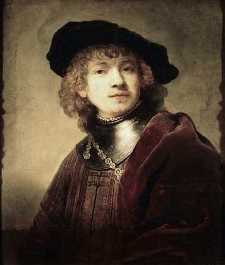 Stock Photo: 3804-396986 Self Portrait  