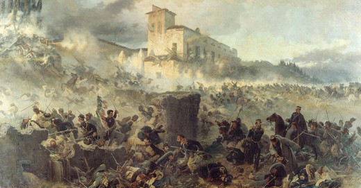 Stock Photo: 3804-397062 Battle of San Martino, Artist Unknown