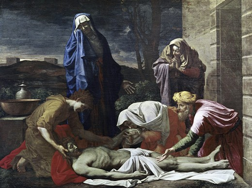 Stock Photo: 3804-397939 Entombment of Christ 