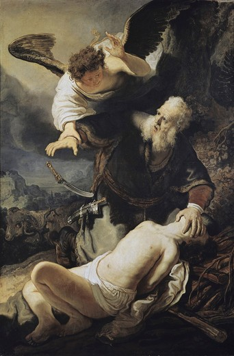 Stock Photo: 3804-397943 Sacrifice of Isaac 