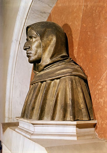 Stock Photo: 3804-398012 Savonarola