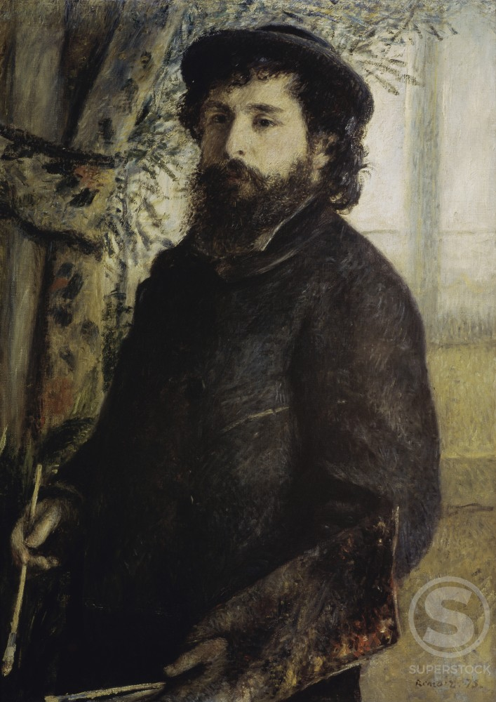 Stock Photo: 3804-398021 Claude Monet
