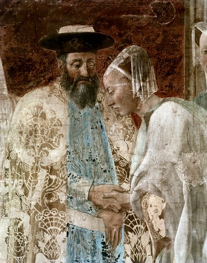 Stock Photo: 3804-400438 King Solomon and The Queen of Sheba