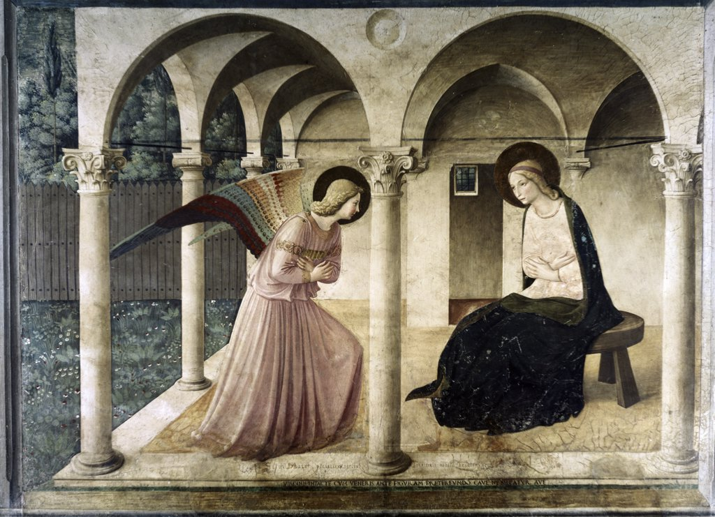 Stock Photo: 3804-407149 Annunciation 