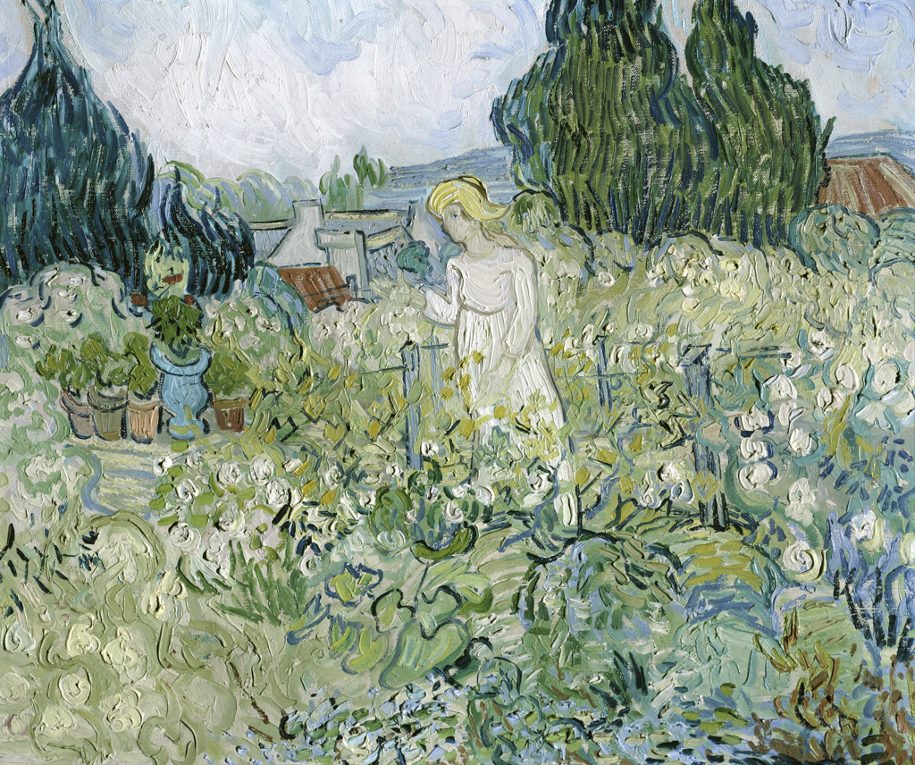 Stock Photo: 3804-414441 Marguerite Gachet in the Garden at Auvers-sur-Oise
