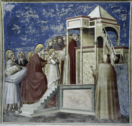 Stock Photo: 3804-420623 Presentation of Mary In the Temple