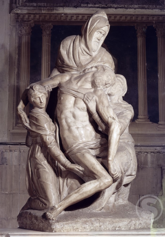 Stock Photo: 3804-431689 The Pieta