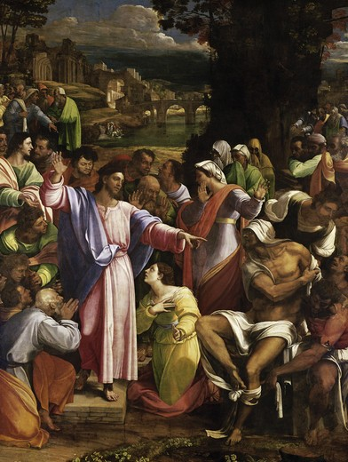 Stock Photo: 3805-441041 The Raising of Lazarus