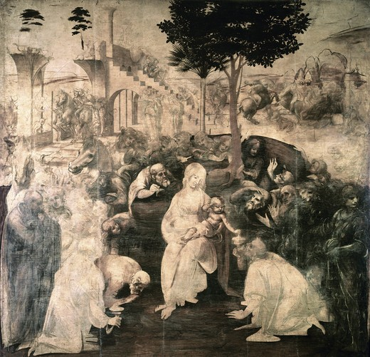Stock Photo: 3805-449940 Adoration of the Magi 