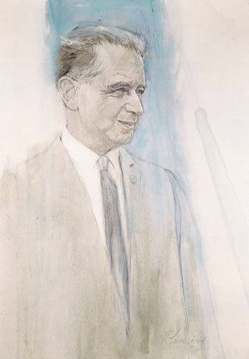 Dag Hammarskjold (1905-1961), Artist Unknown : Stock Photo