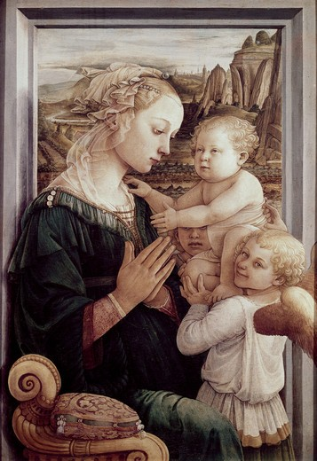 Stock Photo: 3810-341489 Madonna Del Granduca 