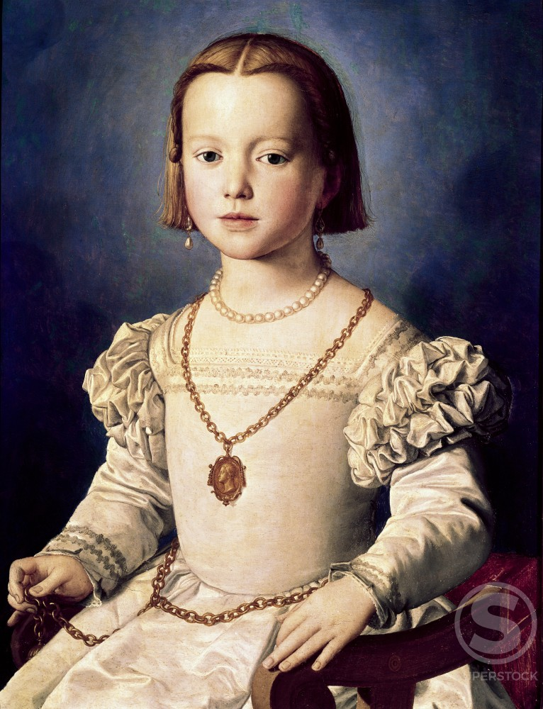 Stock Photo: 3810-395714 Bia, the Illegitimate Daughter of Cosimo I de Medici