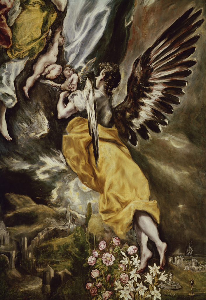 Assumption of the Virgin  (Detail) 