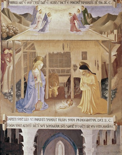 Stock Photo: 3810-412644 The Nativity