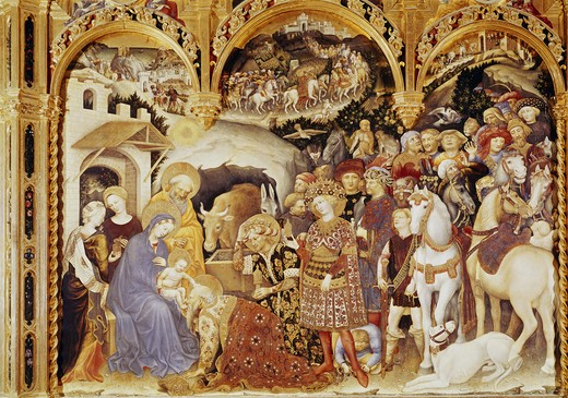Stock Photo: 3810-412688 Adoration of the Magi