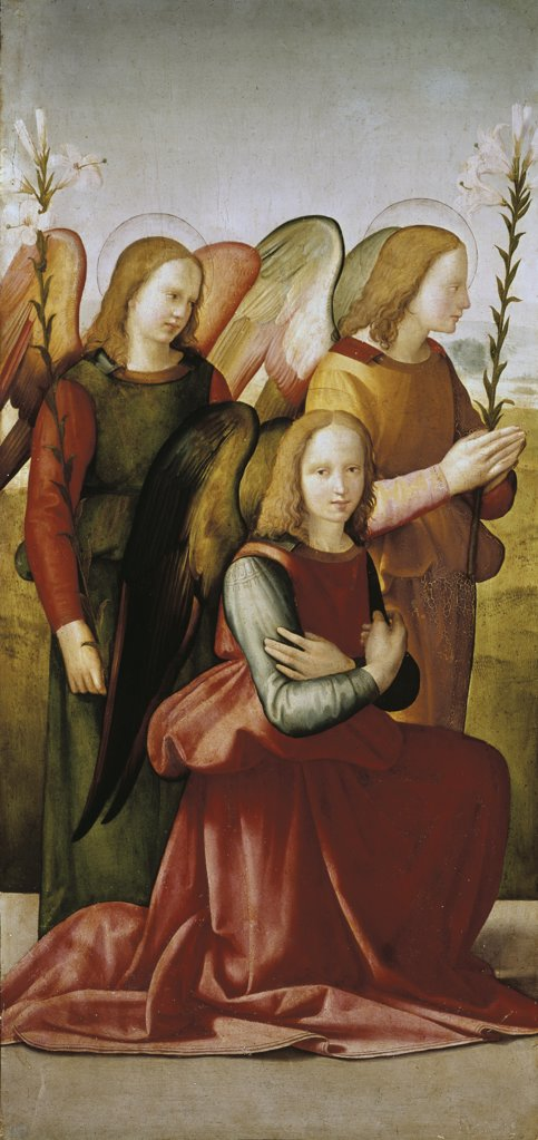 Stock Photo: 3810-412690 Angels of the Annunciation