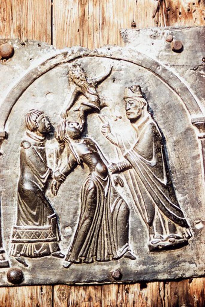 Stock Photo: 3810-481 Saint Zeno  12TH C. Artist Unknown Stone