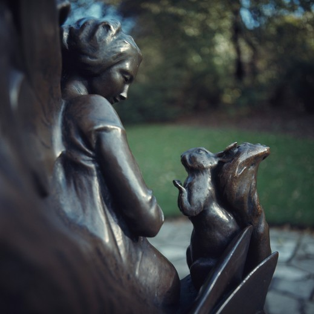 Stock Photo: 3812-460218 Peter Pan Statue George James Frampton (British 1860-1928) Sculpture Kensington Gardens, London
