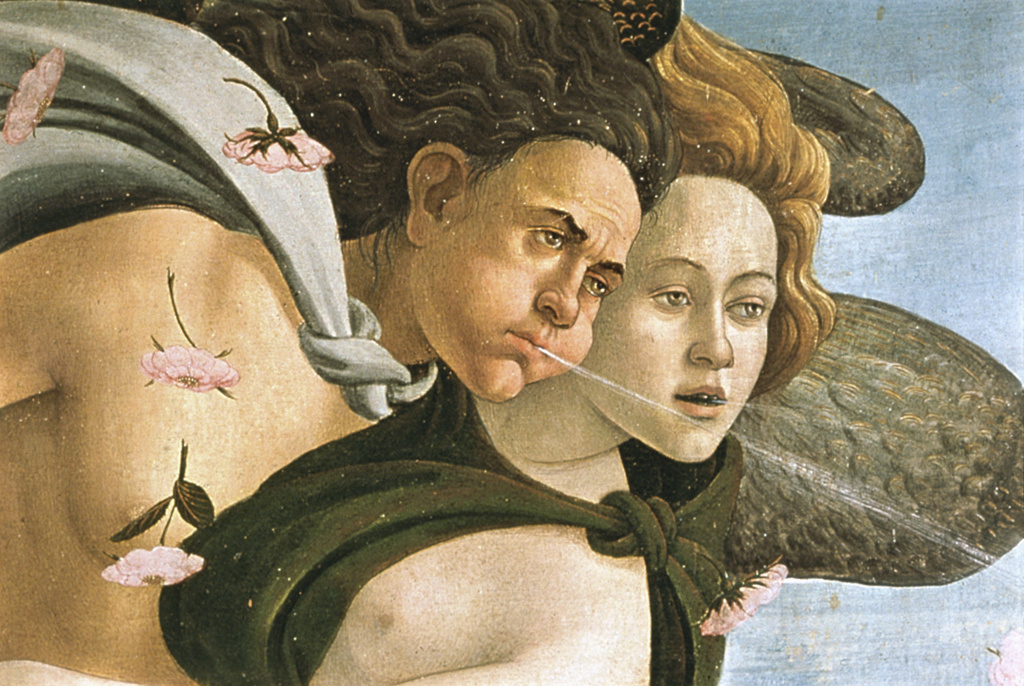 Stock Photo: 3815-391861 The Birth of Venus (Detail) 