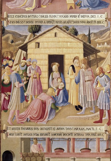 Stock Photo: 3815-398568 Adoration of the Three Kings