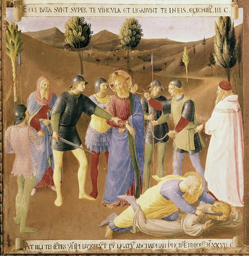 Stock Photo: 3815-398580 The Capture of Christ