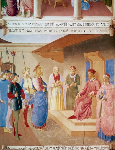 Stock Photo: 3815-398582 Christ Before Herod