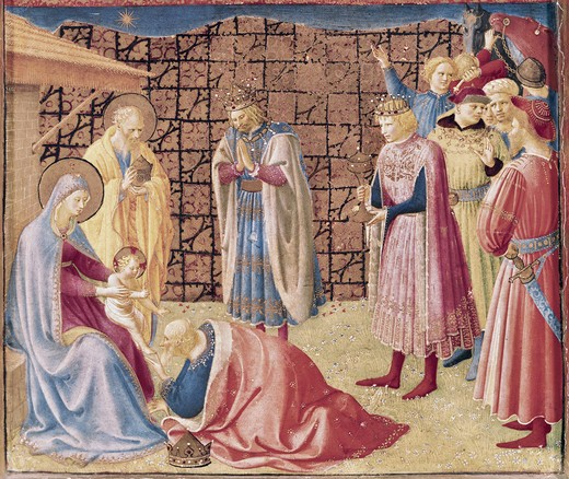 Stock Photo: 3815-400862 Adoration of the Kings 