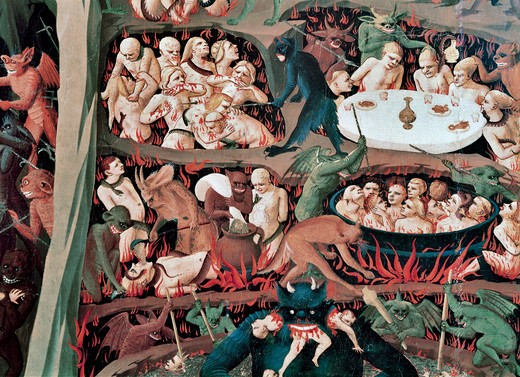Stock Photo: 3815-412648 The Last Judgement (Detail)