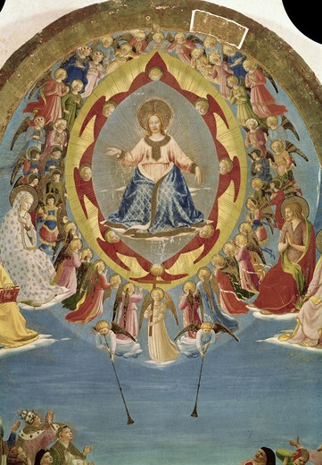 Stock Photo: 3815-412651 The Last Judgement (Detail) 