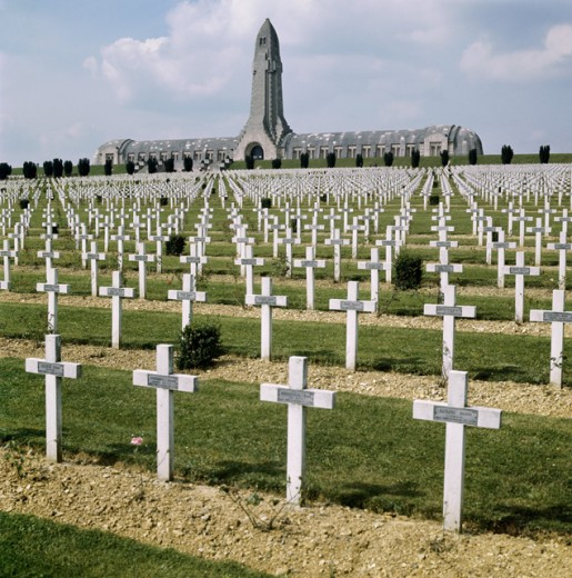 Stock Photo: 3836-430882 World War I Cemetery