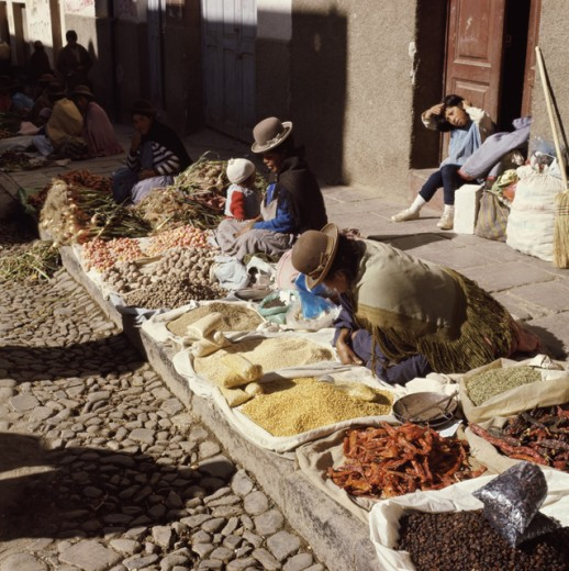 Stock Photo: 3841-442674 Indian Market