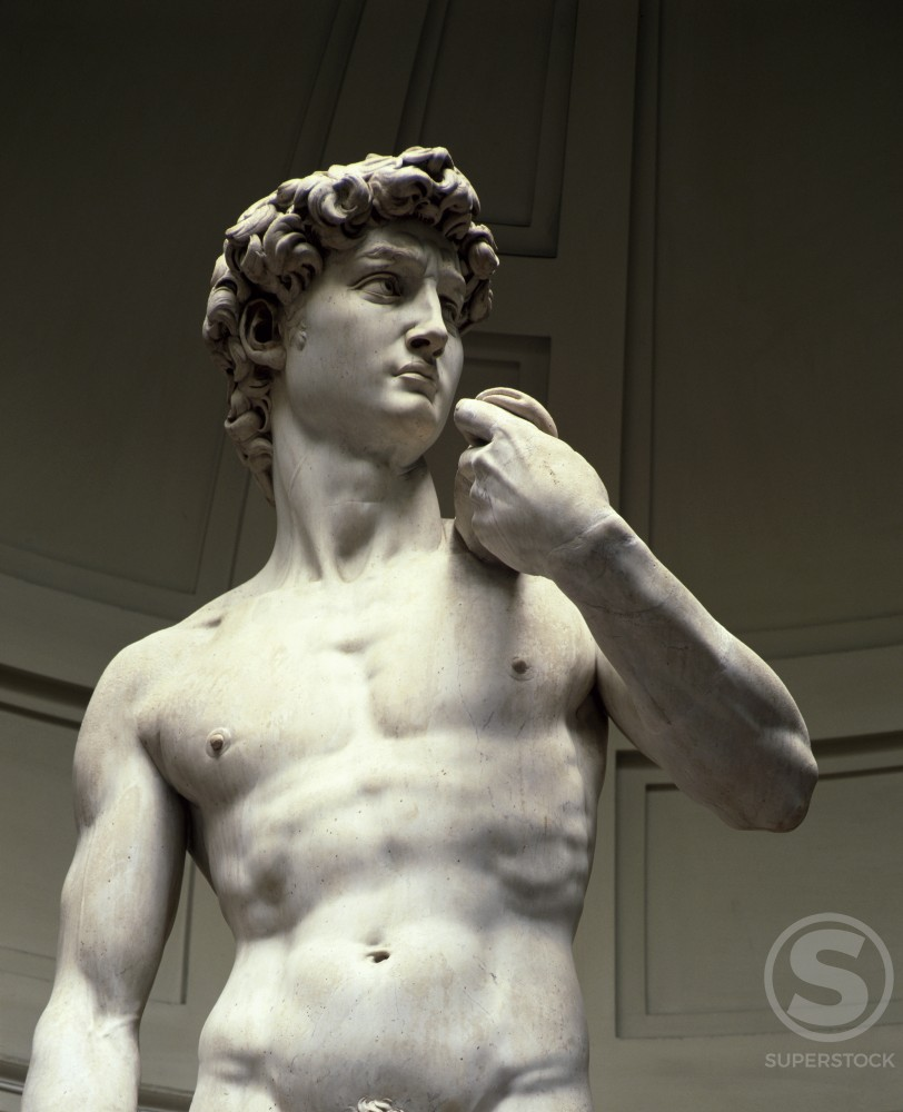 Stock Photo: 3844-200 David (Detail)