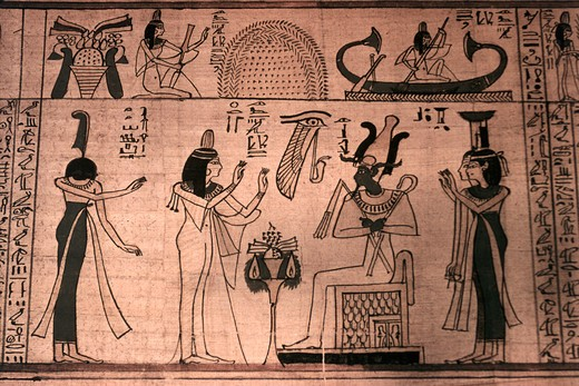 Book of the Dead: Princess Entiu-ny & Osiris