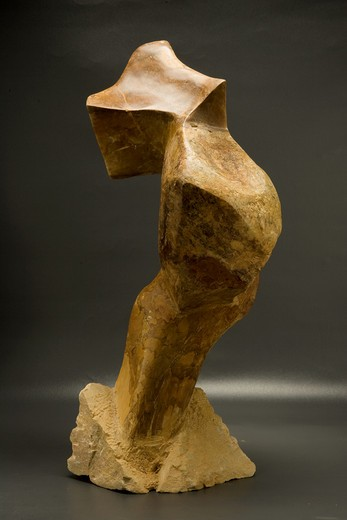 Stock Photo: 4-3769 Abstraction 2, sculpture