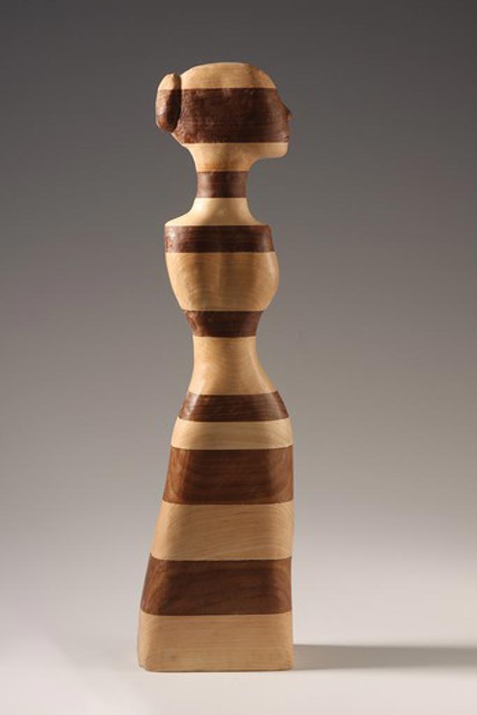 Stock Photo: 4-3781 Woman With Bun, sculpture