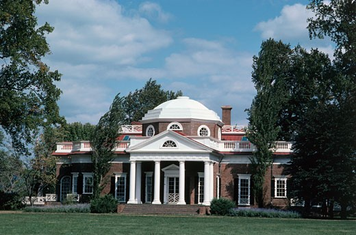 Stock Photo: 40-2149A Monticello