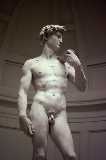 Stock Photo: 40-2848 David (Detail)