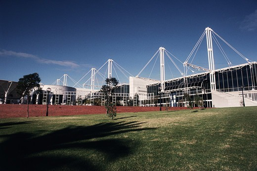 Sydney Exhibition And Convention Center, Darling Harbor, Sydney, New South Wales, Australia : Stock Photo