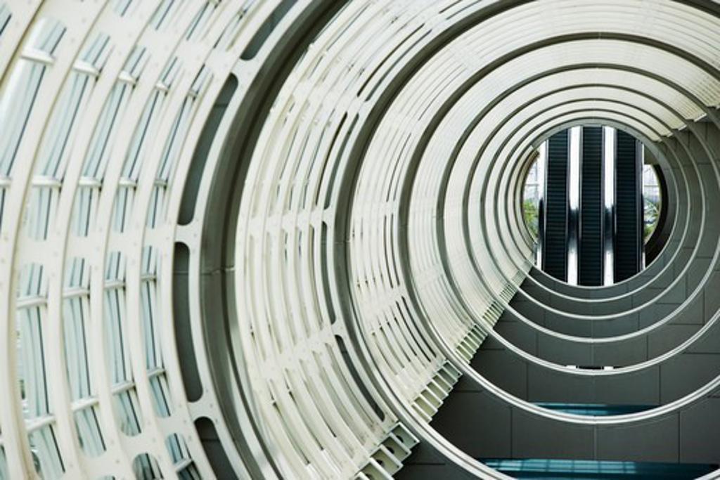 Interiors of the San Diego Convention Center, Marina District, San Diego, San Diego County, California, USA : Stock Photo
