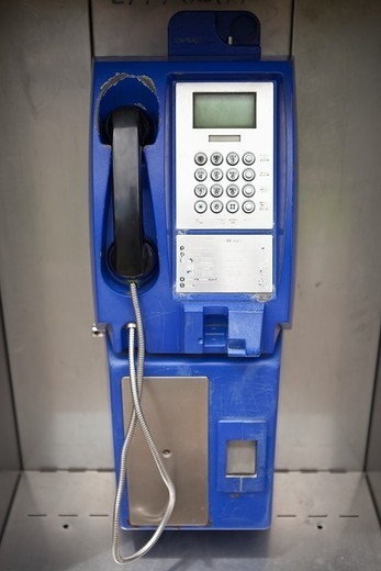 Stock Photo: 4011-976 Credit card pay phone in Costa Rica
