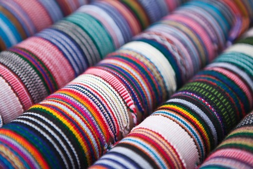 Stock Photo: 4011-981 Bracelets for tourists in Costa Rica