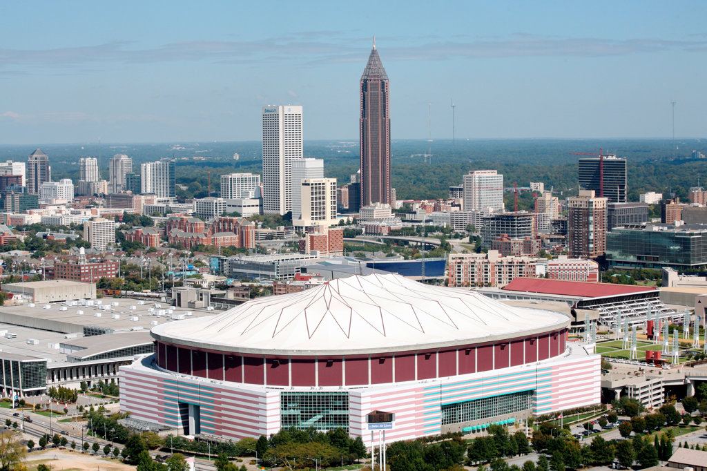 Georgia Dome Atlanta, Georgia : Stock Photo