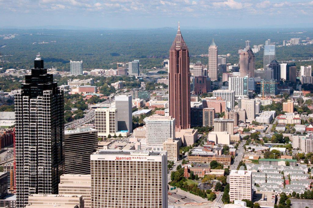 Stock Photo: 4017-1265 Midtown, Atlanta, Georgia