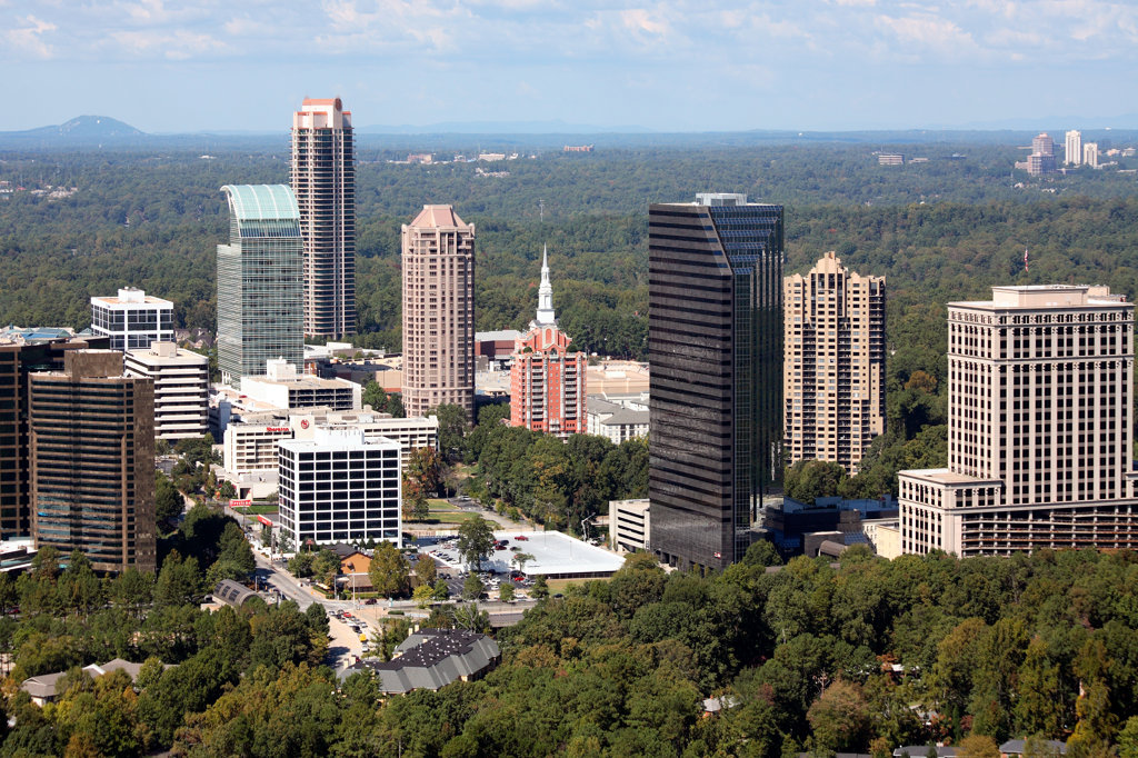 Buckhead, Atlanta : Stock Photo