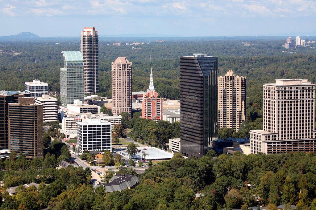 Stock Photo: 4017-1270 Buckhead, Atlanta