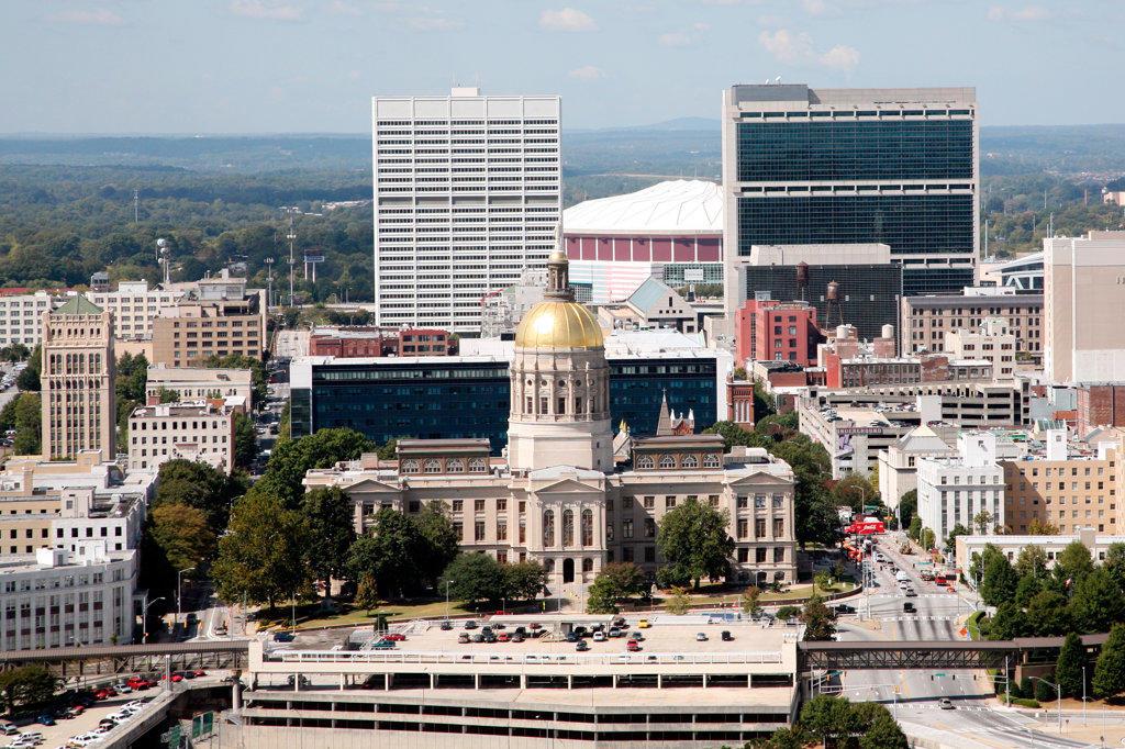 Georgia State Capitol, Atlanta : Stock Photo